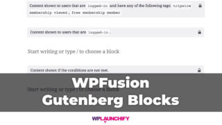 Protect Gutenberg Block Content With WPFusion