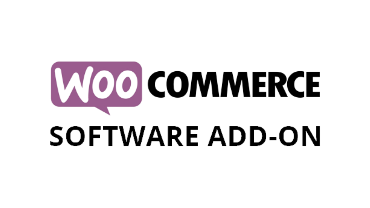 Software WooCommerce Software Add-On